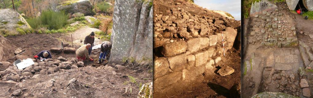 Excavación da fortaleza
